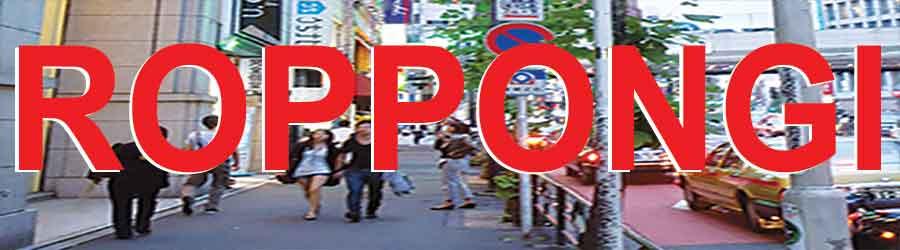 TOKYO POCKET GUIDE Tokyo Roppongi map in English for restaurants
