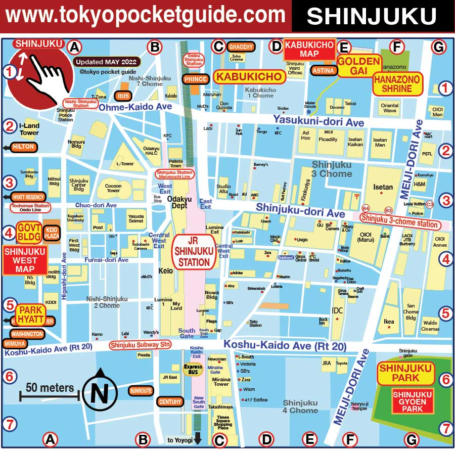 Tokyo Subway Map With Attractions.Top 10 Punto Medio Noticias Tokyo Train Map For Tourist Pdf